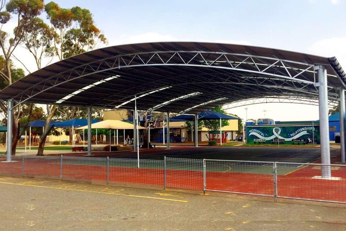 COLA large school shelter Elizabeth Vale Primary School SA City of Playford 11
