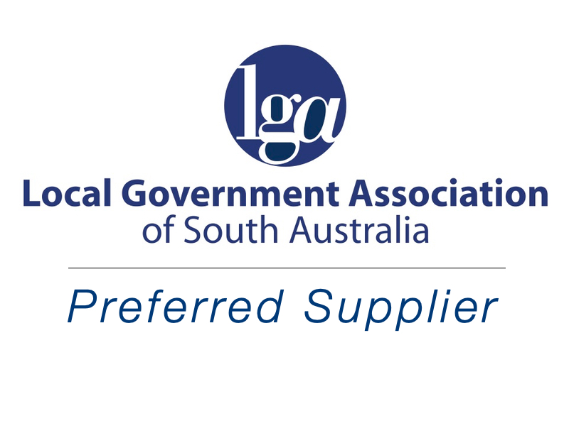 LGA council logo weathersafe shade structure