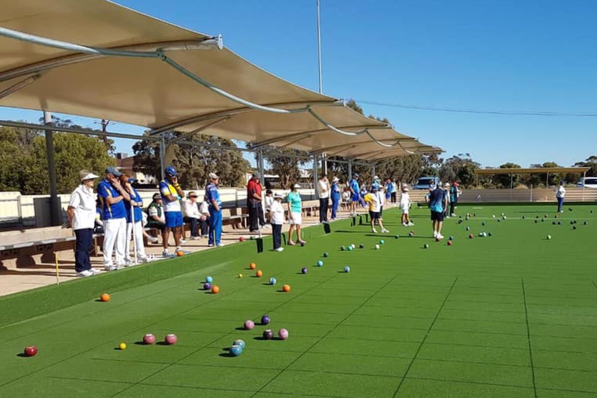 weathersafe and kimba bowling club grant application south australia