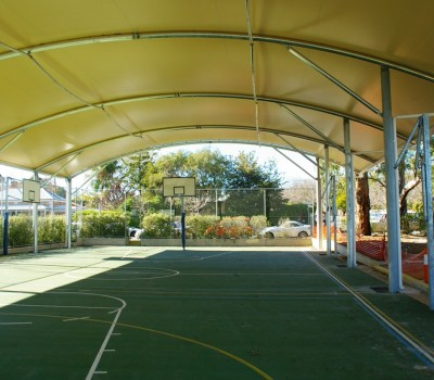 Barrel vault shelter Concordia College St John_s Campus Highgate City of Unley SA