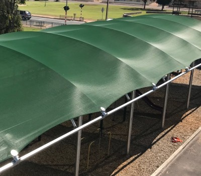 Barrel vault shelter Wallaroo Primary School Yorke Peninsula SA