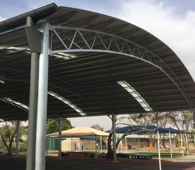 COLA shelter Elizabeth Vale Primary School SA City of Playford