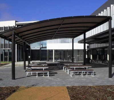 Custom shelter Techport offices Osborne City of Port Adelaide Enfield 3