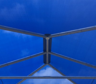 Frame shade structure sail hot dip galvanised steel