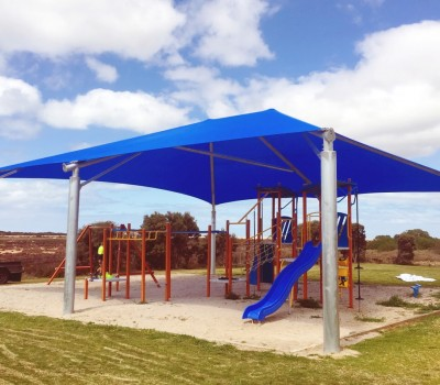 Frame shade structure sail Price Progress Association Yorke Peninsula SA